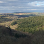 View from The White Hart Inn, Chilsworthy