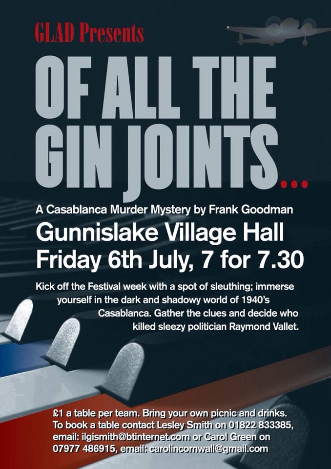 GLAD Of All the Gin Joints