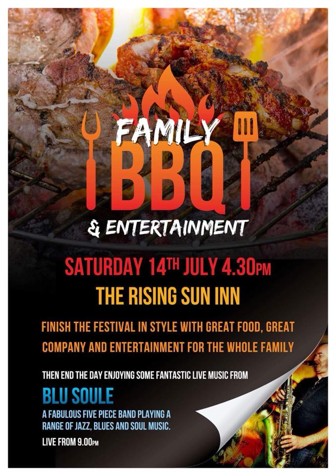 family bbq poster