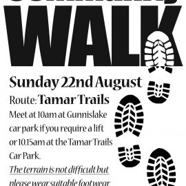 Community Walk – 22nd August 2021 at 10am